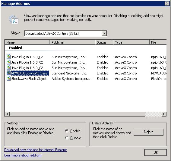 install activex control windows 7 manually add